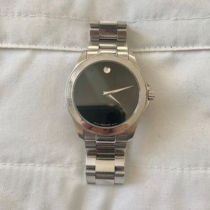 Silver Movado Watch